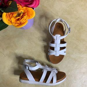 Toddler Girl's Wonder Nation Gladiator Sandals.